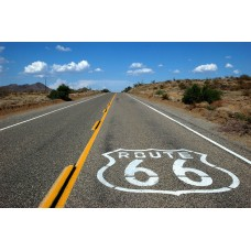 Route 66 - California, road to Essex